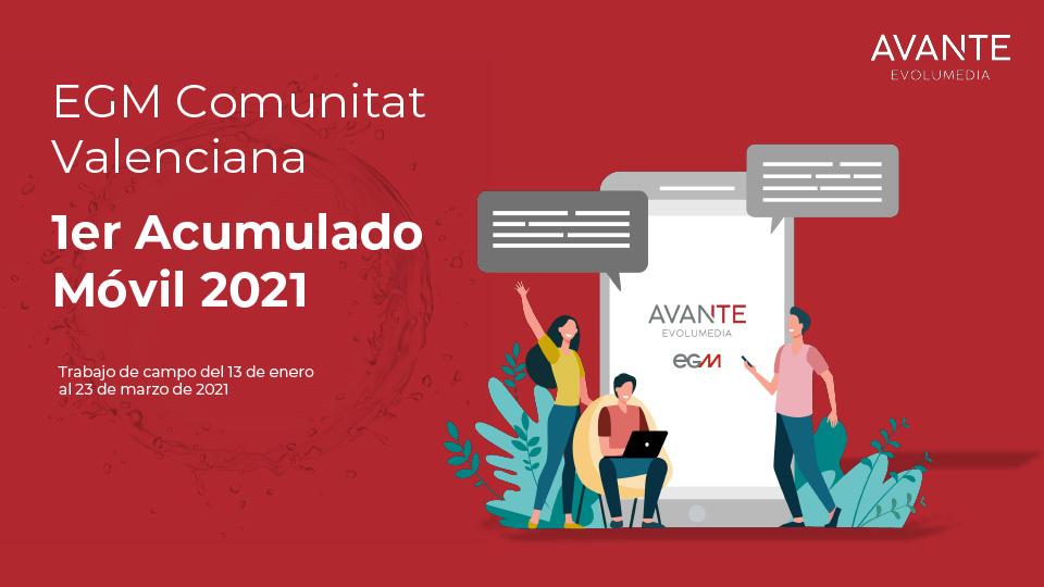 EGM 1º acumulado móvil C. VALENCIANA 2021