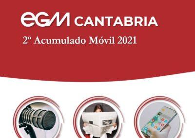 EGM 2º Acumulado Móvil CANTABRIA 2021