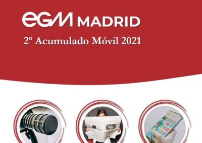 EGM 2º Acumulado Móvil 2021 MADRID