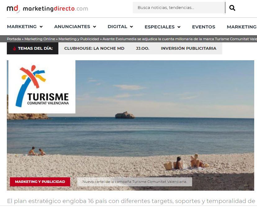 Marketing-Directo_Turisme-Comunitat-Valenciana_Avante